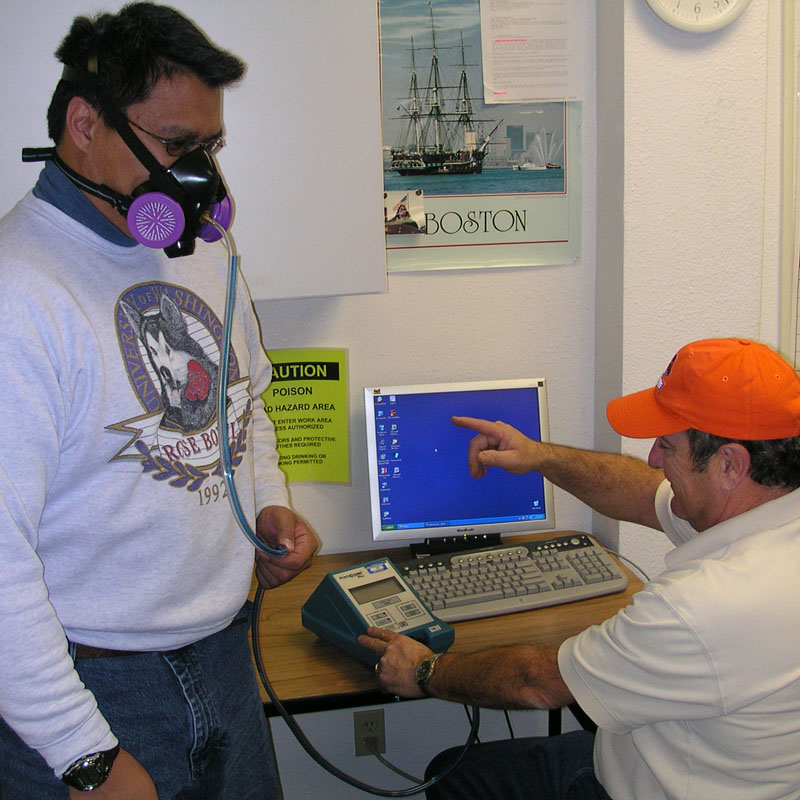 Respirator Training and Quantitative Fit Testing (QNFT)