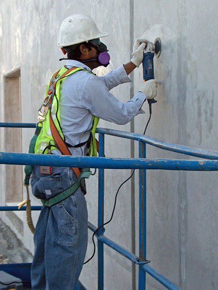 Construction-Safety-Sanding-concrete
